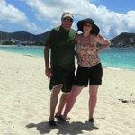 On the beach at Karakter