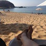Beautiful Private Beach.