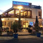Caravelle Restaurant at sunset
