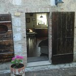 The entrance to Gli Ulivi - our place