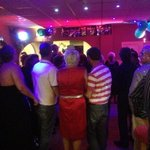 New Year's Eve at the queens Promonade fully booked as usual with lovely guests and great line u