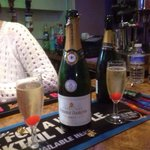 Free champagne New Year's Eve for all guests for the midnight celebrations at the queens Promona