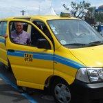 Joao et son taxi