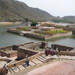 Scene from the Jai Garh Fort in Jaipur