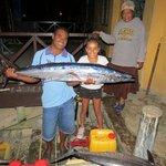 Fresh Fish arriving at Ratu Kinis April 2014