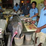 Marlin in the Kitchen at Ratu Kinis