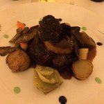 Filet de boeuf, foie gras et truffe