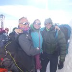 Fly Chamonix TEAM! Patrick, Alice, Sean