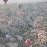 Ballons über dem Roten-Tal