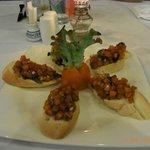 Dinner, 1. Vorspeise im Hotel Rajapruek
