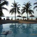 Pool (kleiner Pool), mit Blick aufs Meer