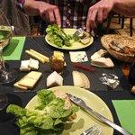 10 cheese platter