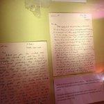 Roald's original letters