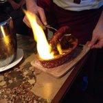 Chorizo grille