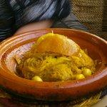 chicken and preserved lemon tagine