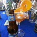 birra all'arancia e coriandolo
