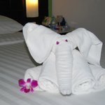 Our housekeeper surprised us often with things like this!