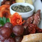 Antipasto platter vineyard lunch is included