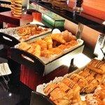 Pastries breakfast buffet