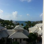 A morning view from the balcony of our room. Loved having a lounge chair plus two other chairs o