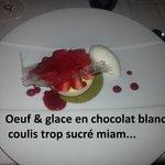 dessert bcp trop sucré