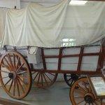 carroza de los pioneros del Oeste