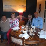 Evening dinner at Maison Voliere