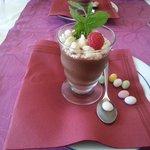 mousse au chocolat aromatique