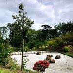 Edinburgh, the Japanese Garden by the Lauriston Castle
