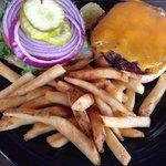1/2 pound burgers, yuuummmm!