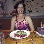 Organic Salad prepared with love by Putu