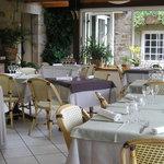 La véranda et son restaurant