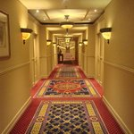 the hallway to our room