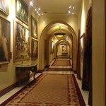 Hallway to casino floor