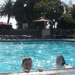 Nice family pool area
