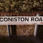 Coniston Road sign
