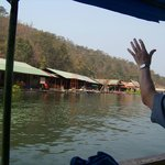 Arriving at our houseboat