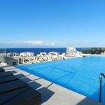 Panorama dalla piscina esterna (9P)