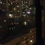 Room view at night.