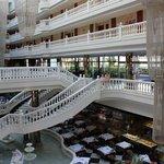 Холл отеля.