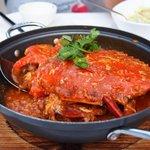 Chilli Crab at the Seafood Republic restaurant