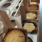 Dyment`s fresh baked pies in all sorts of delicious flavours
