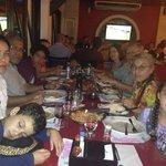 Jantar em Família no Parmediano