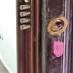Quadruple Dead-Bolt on Door