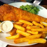 fish & chips (lady portion)
