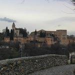 Vue du logement, face à l'Alhambra