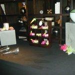 Baptism decoration set up