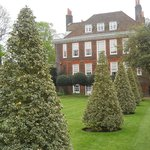 Fenton House rear garden