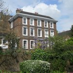Exterior view of Burgh House in Spring