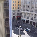 Another view of Gran Via from the balcony